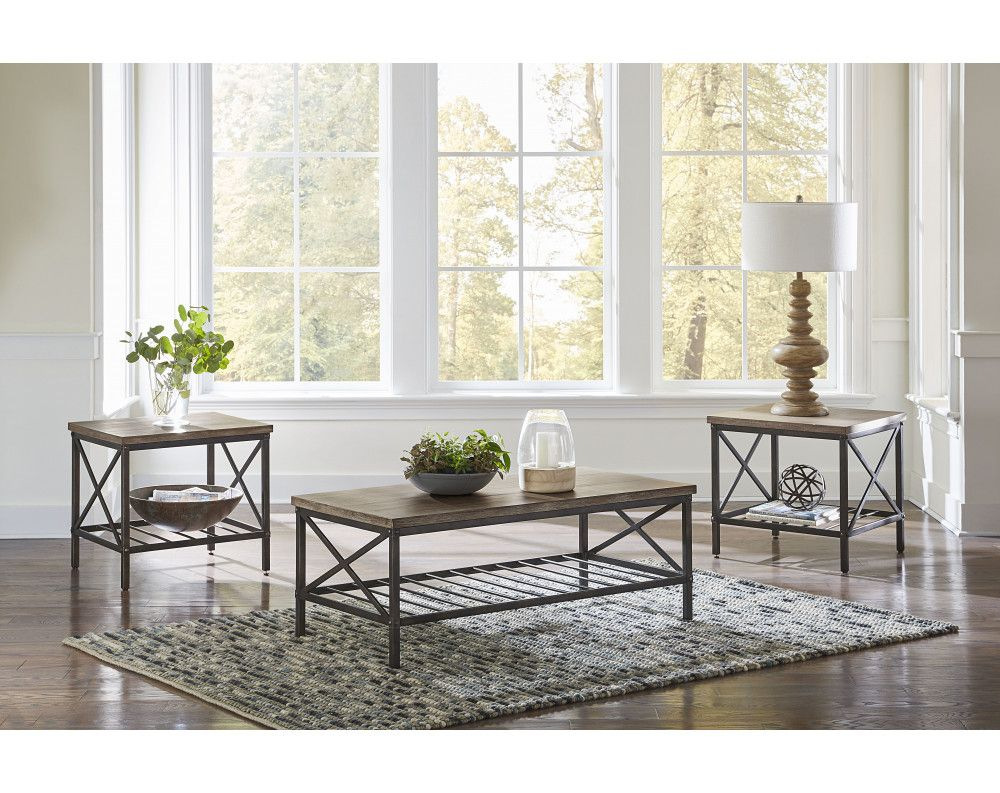 Brendon Occasional Collection Coffee And End Tables Accessories American Freight Coffee Table 3 Piece Coffee Table Set Furniture [ 793 x 1000 Pixel ]