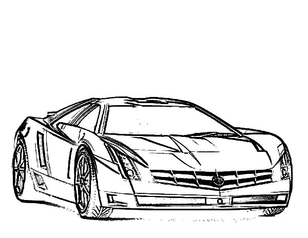 Jaguar Car Coloring Pages To Print Collection