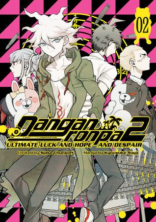The ultimate teenage murder game continues! Based on Danganronpa 2: GoodbyeDespair, the sequel to the original Danganronpa, the manga series UltimateLuck and Hope and Despair contains many scenes only hinted at in the game!    They say if you can't stand the heat, get out of the kitchen...but the onewho's on the hot seat is Ultimate Cook Teruteru Hanamura, on trial for themurder of Byakuya Togami! Revealing his true nature in the courtroom, Nagitoforces his fellow students to realize they don't