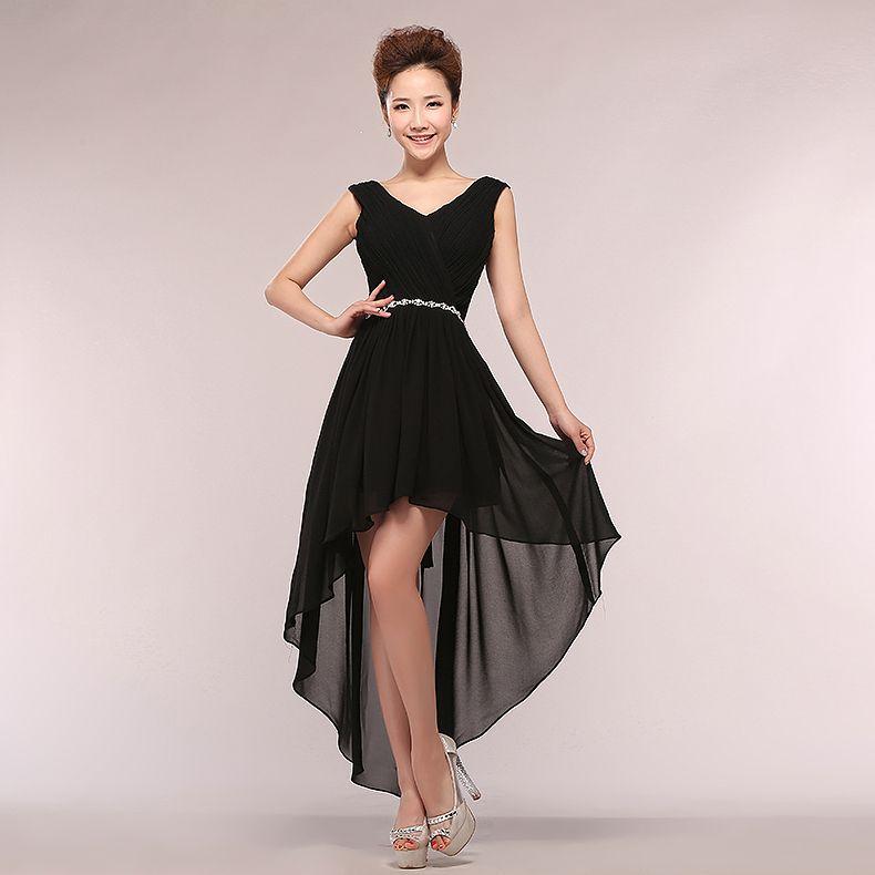 Vestido de noche formal corto