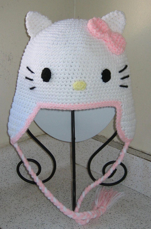 fdfc42e40 Hello Kitty Hat Inspired Baby Pink. $20.00, via Etsy. | LoVee it ...