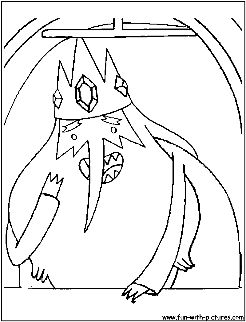 adventure time ice king laughed coloring pages adventure time cartoon coloring pages - Adventure Time Coloring Pages Free 2