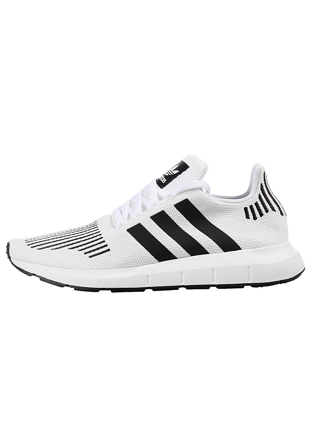 the best attitude 38d99 8aa14 Adidas Swift Run - Baskets pour Homme - Blanc