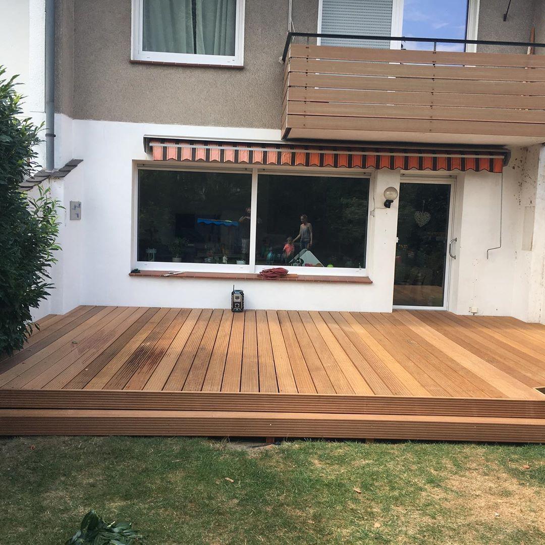 Terrasse Holzterrasse Holzdesign Sichtschutz Gevelsberg Handwerk Tischler Schreiner Holzbau Design Garten Makita Wu Holzterrasse Holzbau Holzdesign