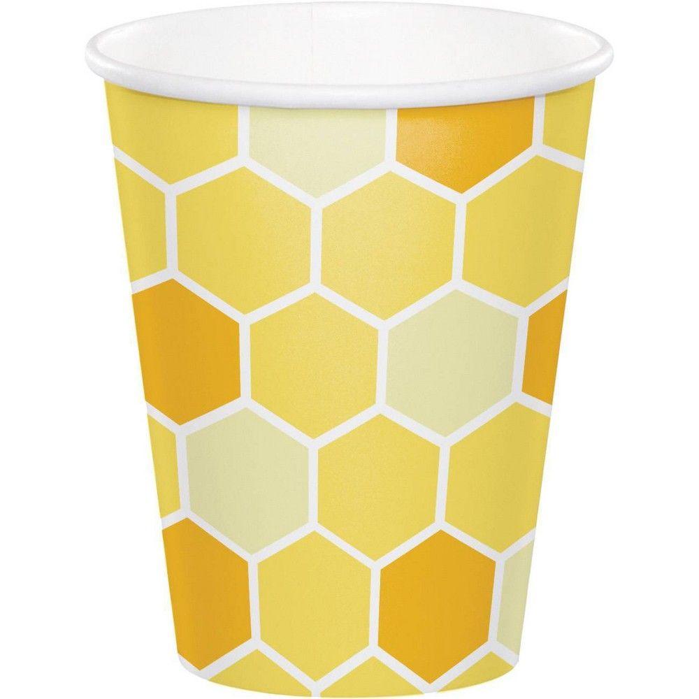 Bumblebee 24ct Baby Shower Cups