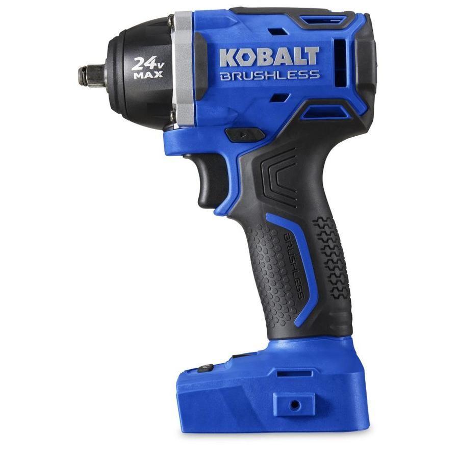 Kobalt 24 Volt Max 3 8 In Drive Cordless Impact Wrench 99 Needed  ~ Pistola De Impacto Leroy Merlin