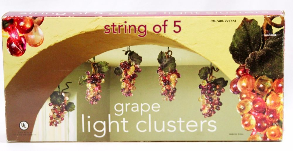 Costco grape light clusters hanging lights 5 bunches decor indoor costco grape light clusters hanging lights 5 bunches decor indoor outdoor costcco multipurpose mozeypictures Choice Image