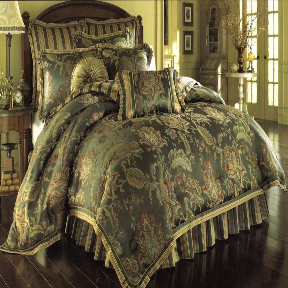 Best Queen Knightsbridge King 4 Piece Comforter Bed In A Bag 400 x 300