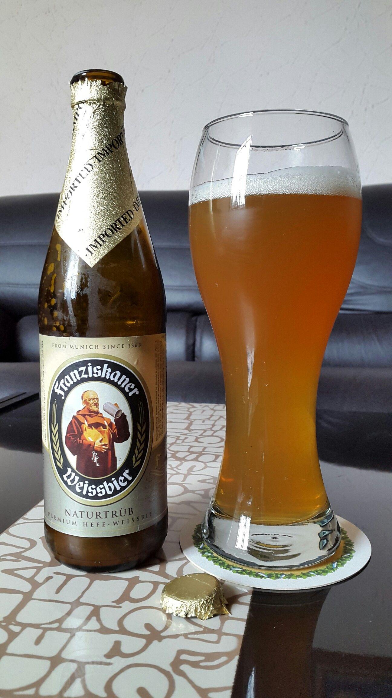 Franziskaner Weissbier Cerveza Alemana De Trigo Cerveza Alemana