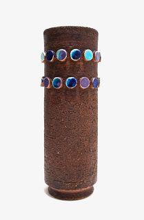 Aldo Londi; Glazed Ceramic Vase for Bitossi, 1960s.