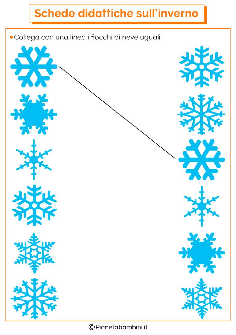 Foto Di Natale Neve Inverno 94.Schede Didattiche Sull Inverno Per La Scuola Dell Infanzia Deti