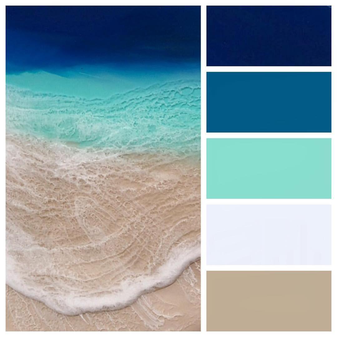 Pin By Kim Rickolt On Resin Ideas Color Schemes Beach Color