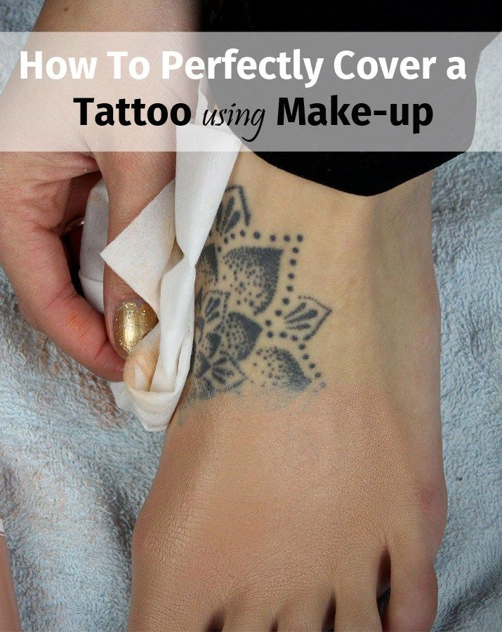 4 Simple Steps to Completely Cover a Tattoo With Makeup