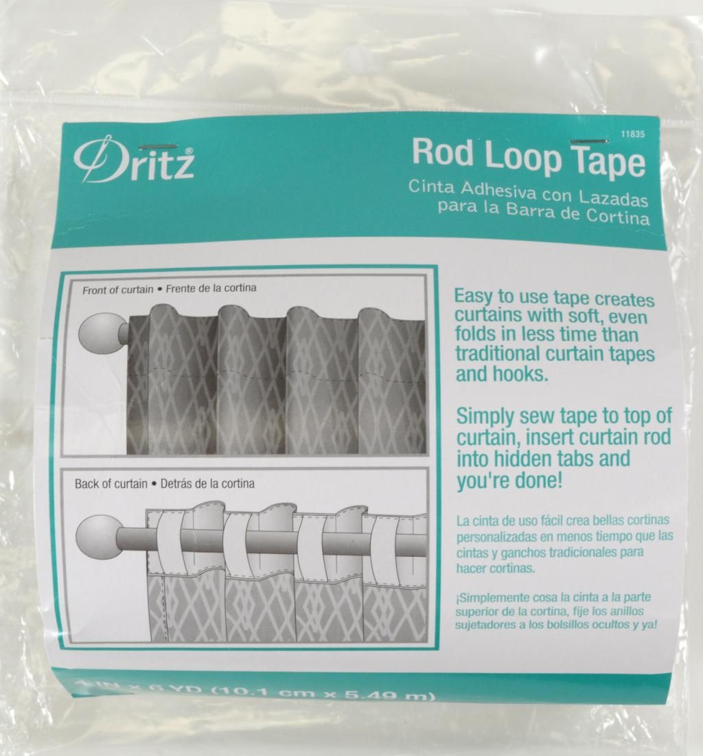 Rod Loop Tape 11835 Dritz Quilting Sewing Amp Crafting