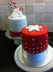 Resultado de imagen para pinterest pasteles navidenos