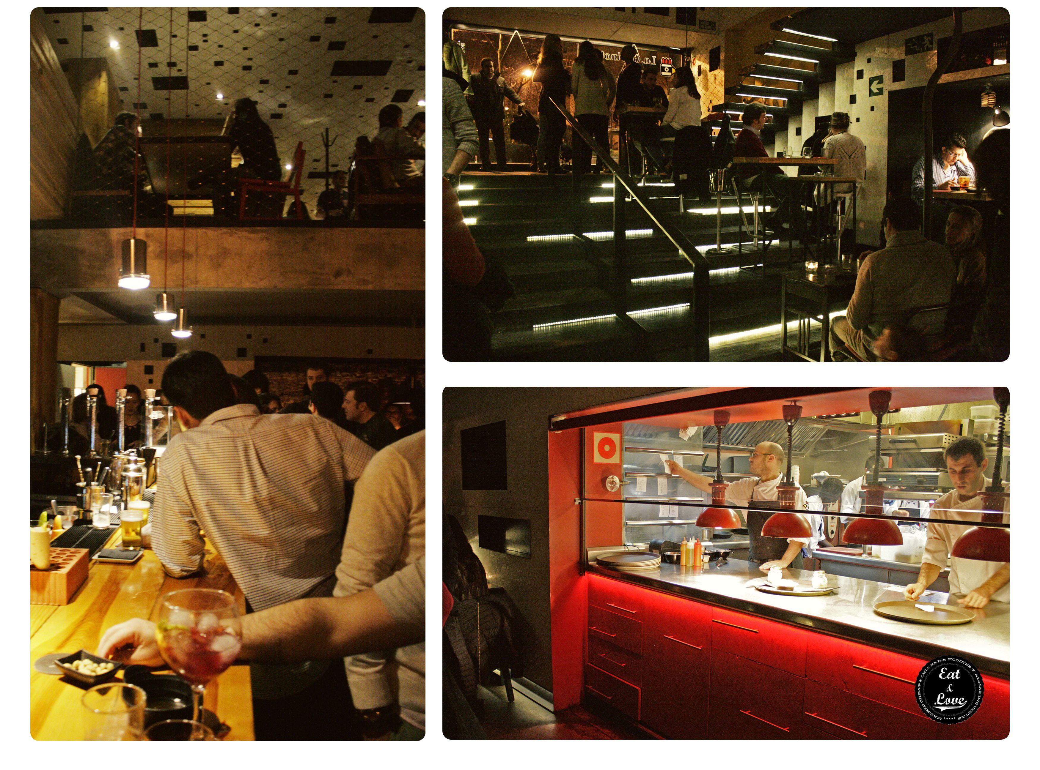 Gabinoteca restaurante creativo tapas Madrid