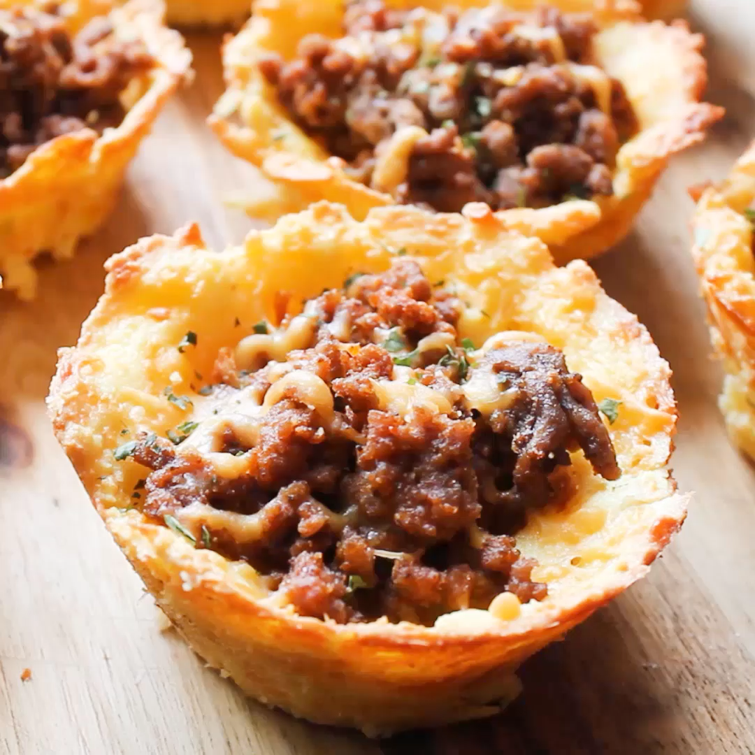 Keto/Low Carb Taco Cups