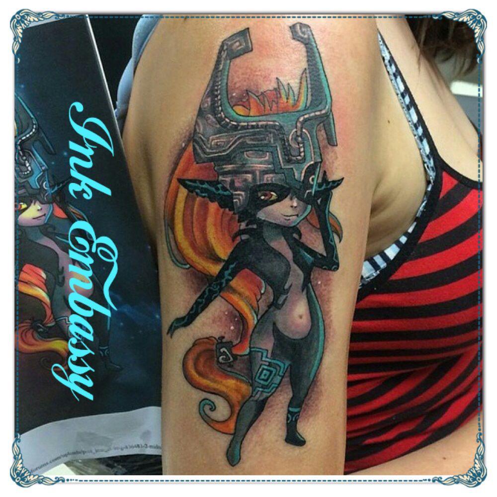 """""""Midna"""" zelda tattoo (With images) Zelda tattoo"""