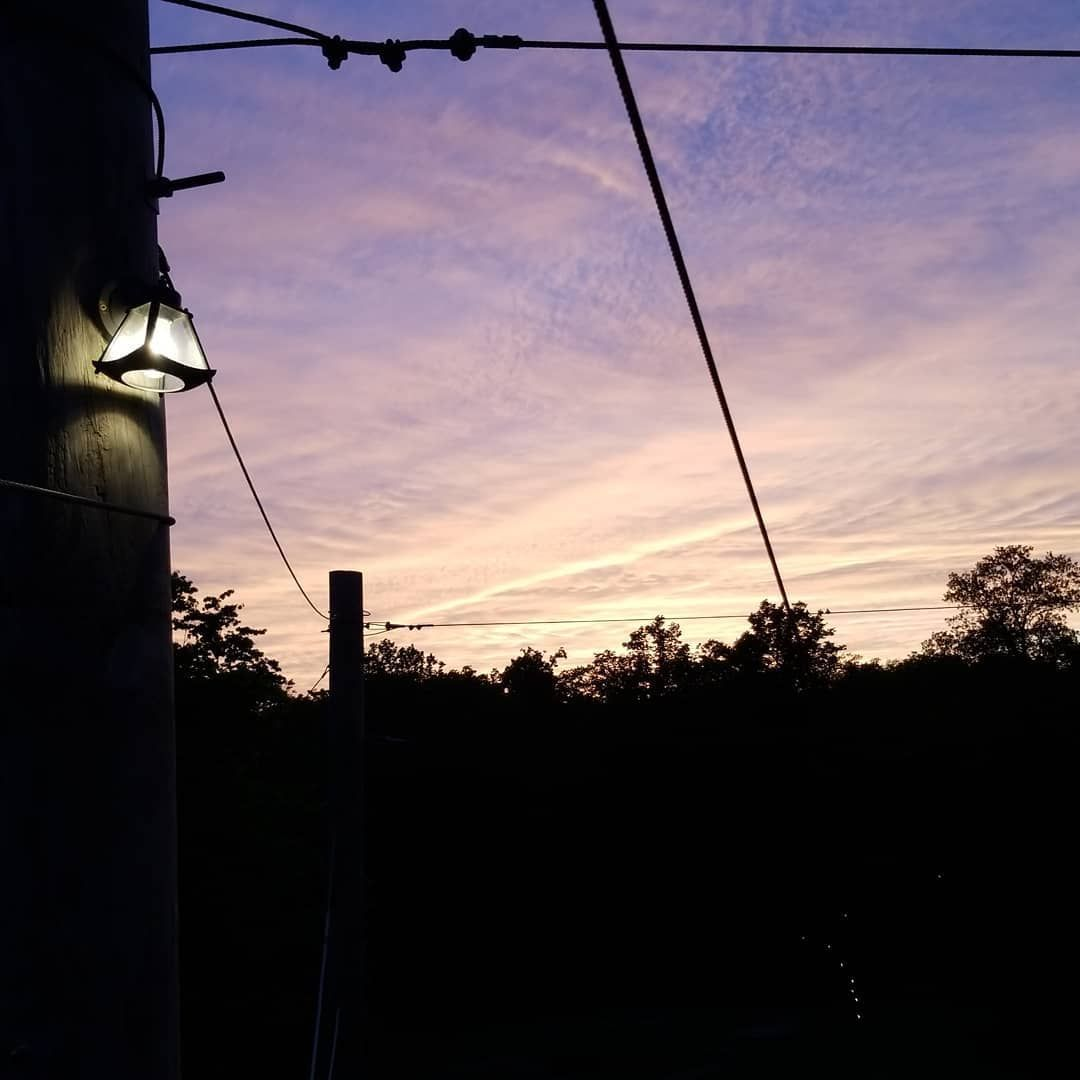 In the midst of gnat induced rage, the view is nice.  gnats  iowa  sunset  highropes  zipline  nightzipline #gnats In the midst of gnat induced rage, the view is nice.  gnats  iowa  sunset  highropes  zipline  nightzipline #gnats