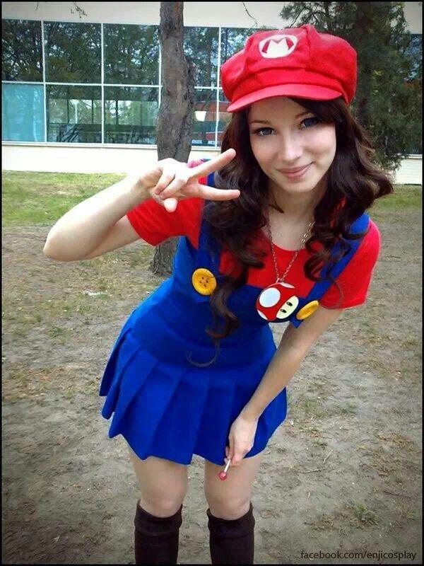 Cute Mario Cosplay Girl Cosplay Pinterest Kostüm Diy Kostüm