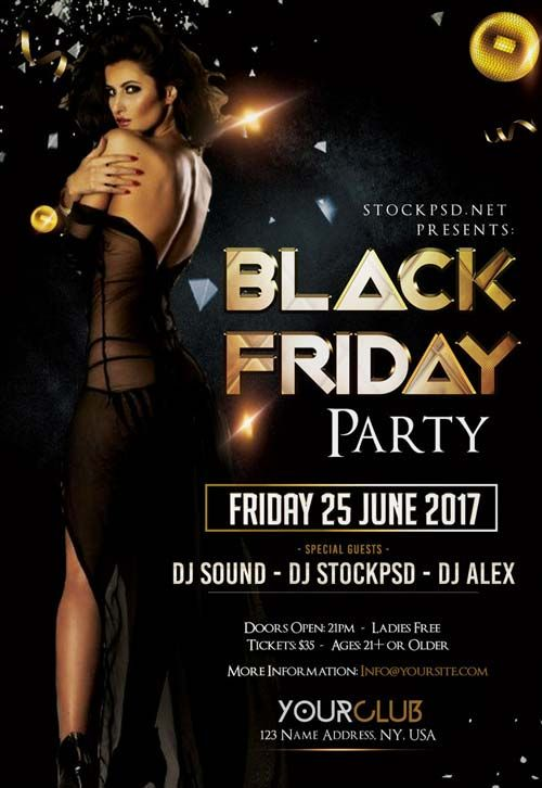 Black Friday Free Flyer Template  HttpsFfflyerComBlack