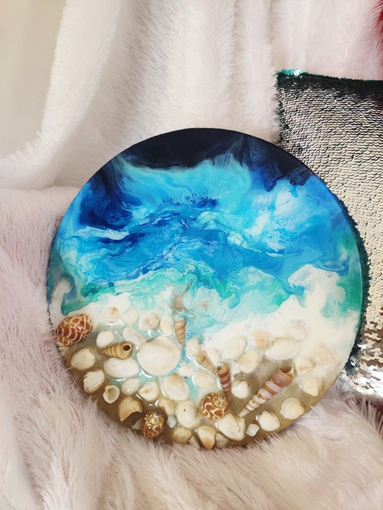 Ocean waves on Epoxy Resin. I am so happy how it came out! 🌊❤️ Get yours now! Available for commission. Follow us : @soulful_artists ________________________________________ #epoxyresin #resinart #resin #epoxyresinworks #epoxyartist #resincreations #resinpour #art #artwaves #resinartist #resinartworldwide #epoxywaves #resinwaves #artist #artoninstagram #commissionedartwork #artwork #resinartwork #ocean #pouringart #makewaves #artistoninstagram #artoftheday #walldecor #homedecor #hoteldecor #
