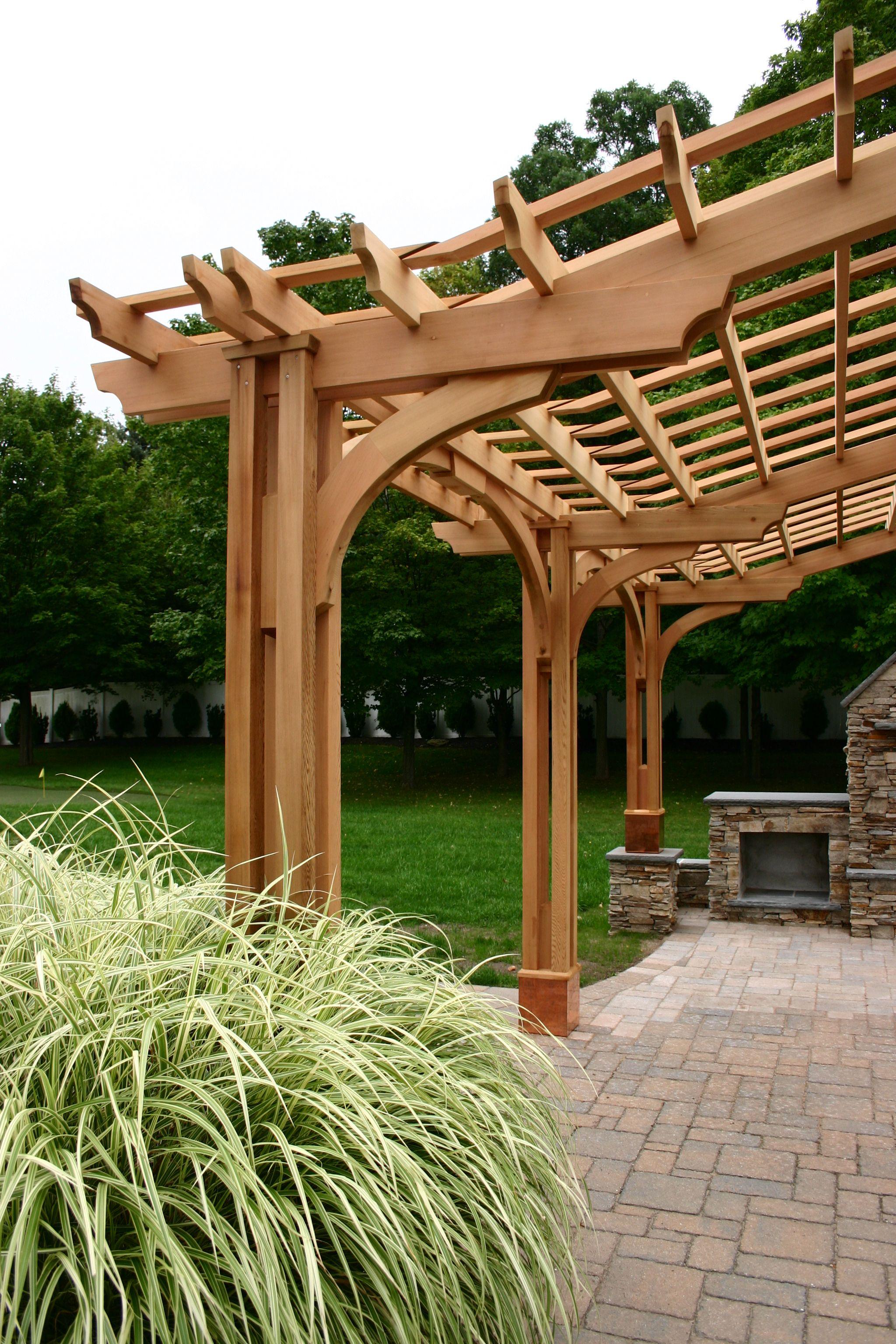 Post bracket pergola bp12 home ideas in 2019 - Construccion de pergolas de madera ...