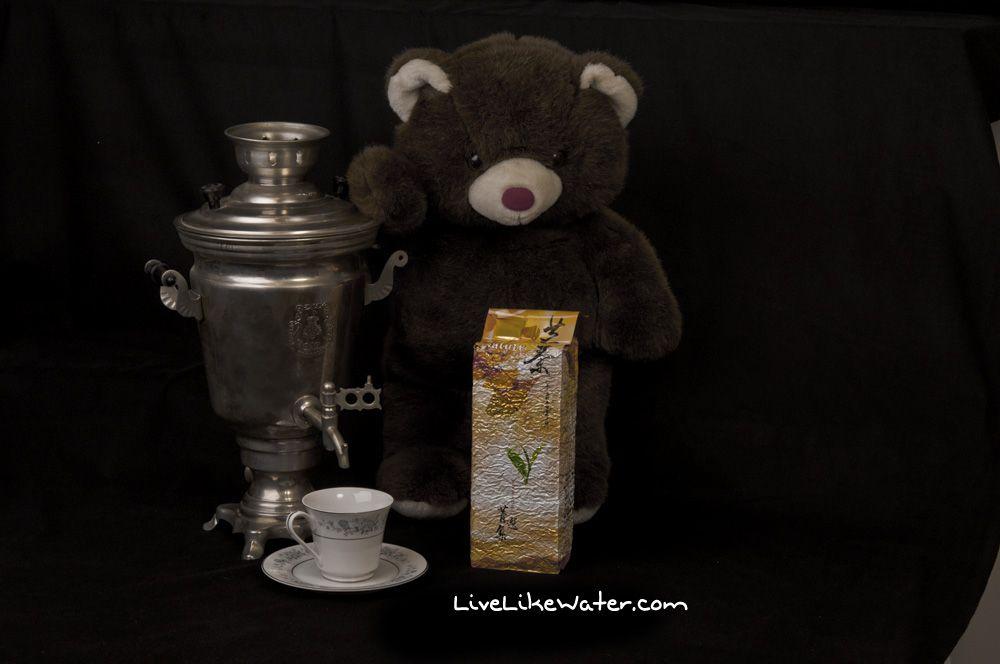 Black tea and Samovar.