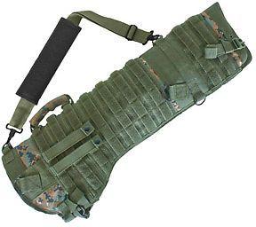 Fox Outdoor Tactical Scabbard Digital Woodland 099598584436 Soft Gun : 58-443