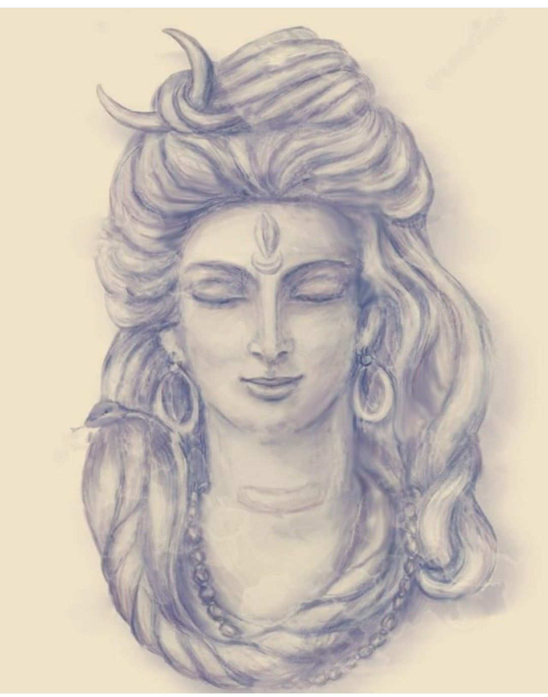 Shiv mahadev in 2019 lord shiva painting lord shiva