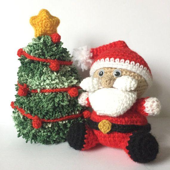 cosicasraquel: Santa Claus Amigurumi | 570x570
