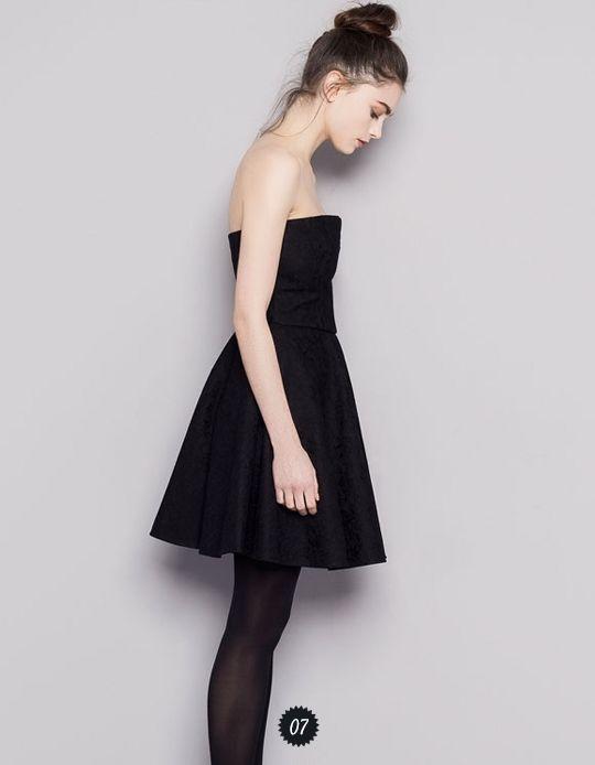 robe bustier f tes de fin d 39 ann e pinterest. Black Bedroom Furniture Sets. Home Design Ideas