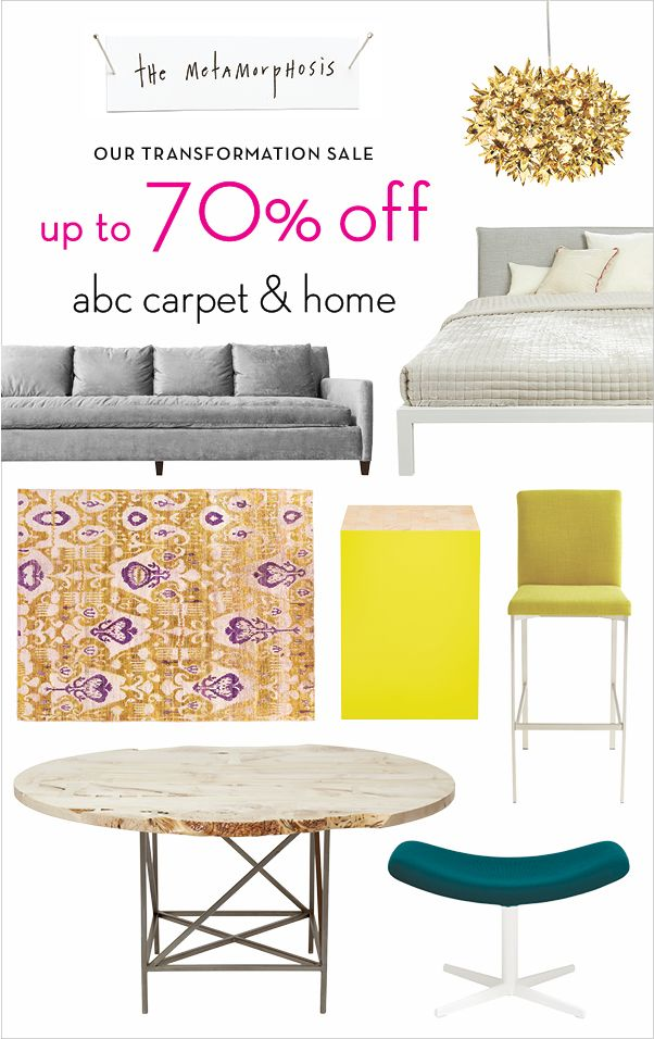 Our Transformation Sale. Up To 70% Off In Store U0026 Online. Furniture,  Lighting, Rugs, Bed U0026 Bath...experience This Historic Sale. Reinvent With  Us.