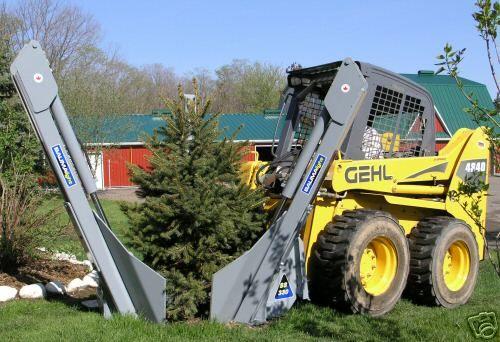 Baumalight Ss330 30 Skidsteer Skid Steer Tree Spade Ebay Forestry Equipment Tractors Logging Equipment