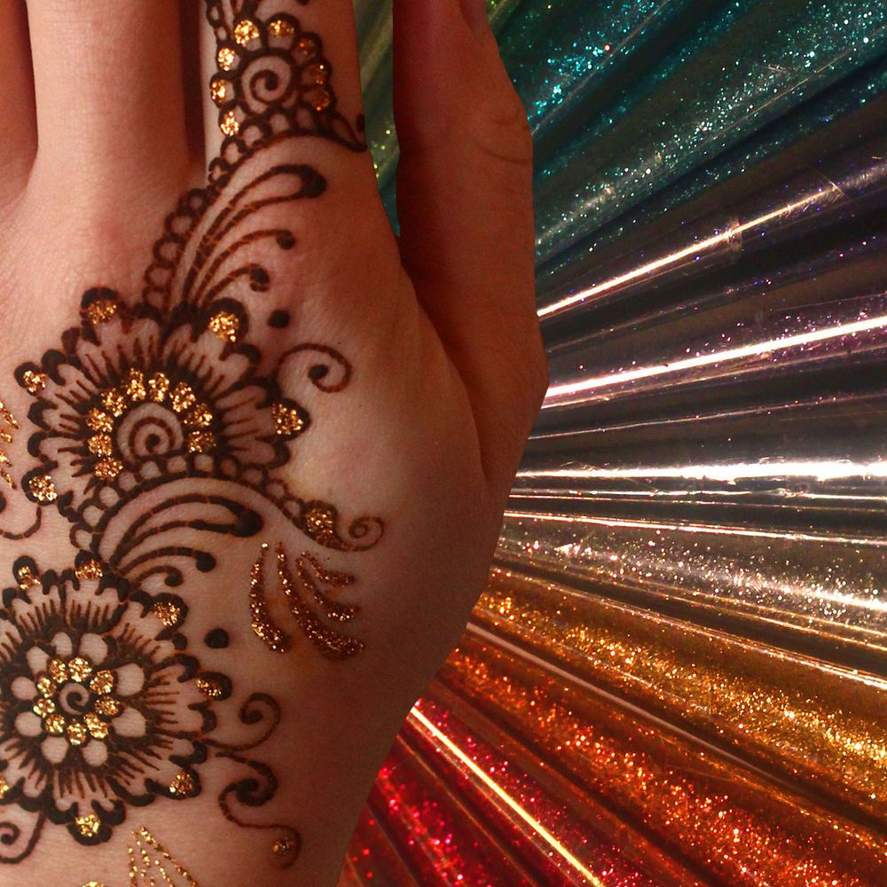 Henna Tattoo Uk: Details About Extra Large 25g Glitter Gel Cone! 12 Colours