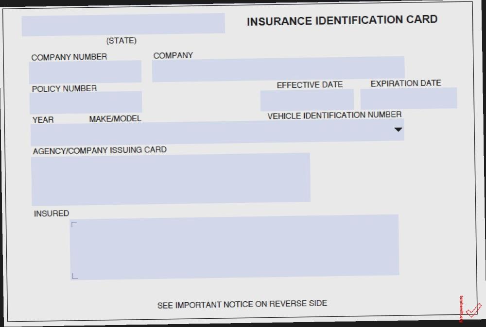 Fake Car Insurance Card Why Is Fake Car Insurance Card ...