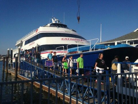 Off On Our Excursion To Catalina Island The Best Way To Spend My