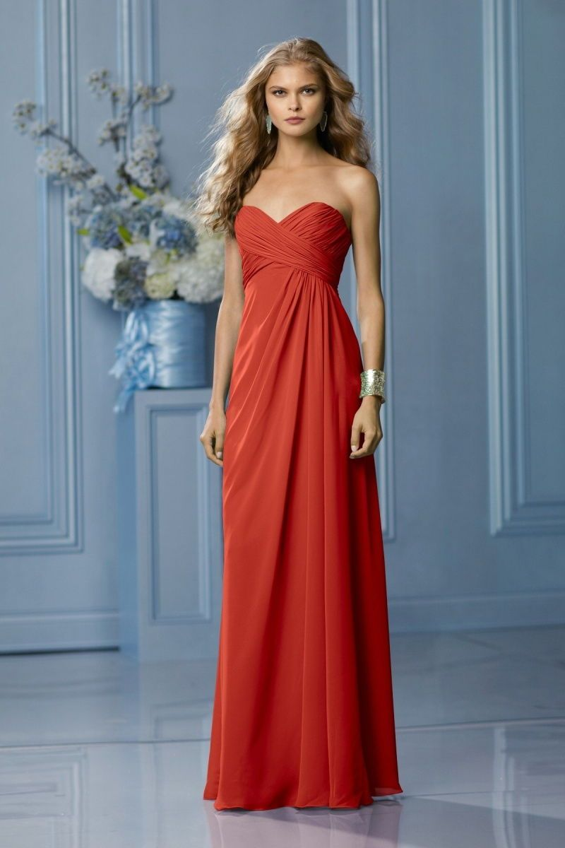 burnt orange bridesmaid dresses - Google Search | Dresses ...