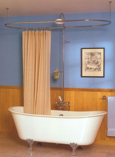 Charmant Missy Double Ended Cast Iron Tub