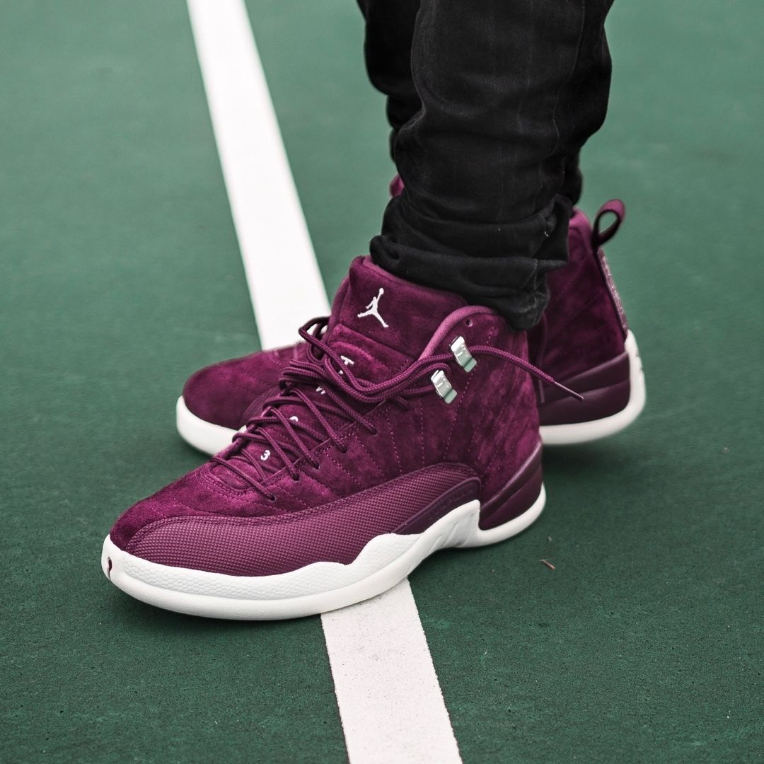 nike air jordan 12 retro bordeaux