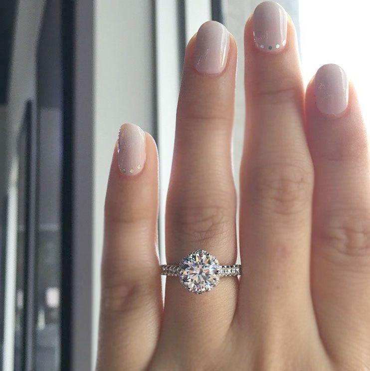 Diamond Rings For Sale Walmart: Halo Engagement Rings Walmart One Halo Engagement Rings
