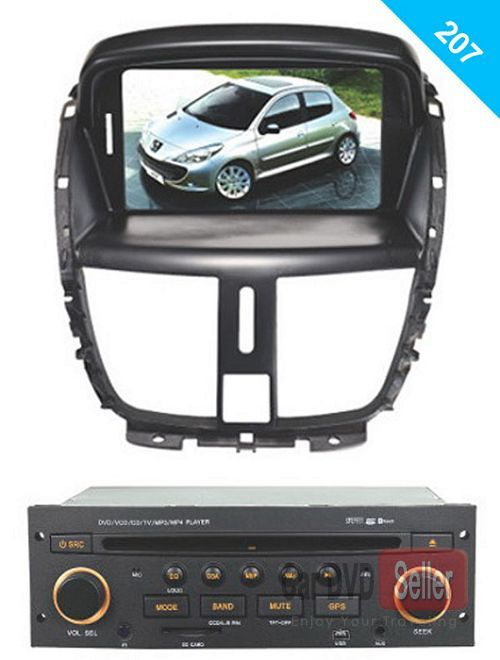 Head Unit Auto Stereo Car DVD Player GPS Navigation for