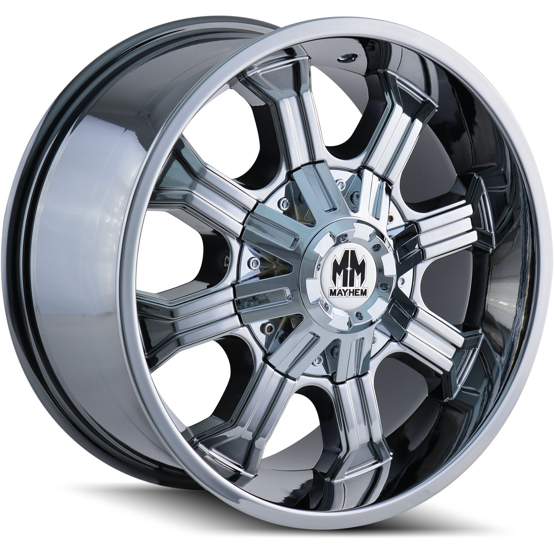 20x9 PVD Chrome Beast 8x180 0 Rims Trail Blade MT 35X12 5X20 Tires