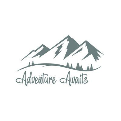 Harriet Bee Adventure Awaits Wall Decal Color: Gray