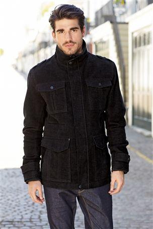 Signature Charcoal Italian Moleskin Jacket   Style ...