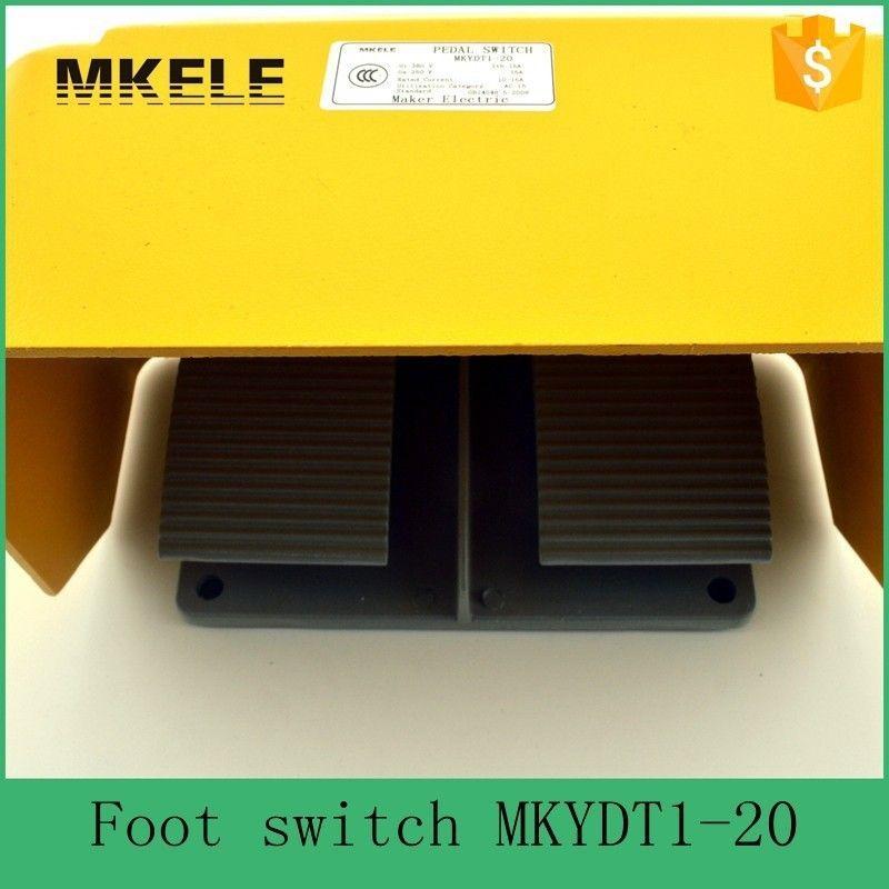 $22.00 (Buy here: https://alitems.com/g/1e8d114494ebda23ff8b16525dc3e8/?i=5&ulp=https%3A%2F%2Fwww.aliexpress.com%2Fitem%2FMKYDT1-20-cheap-aluminium-alloy-15A-universal-hot-sale-CE-certificate-twin-double-dual-foot-pedal%2F32364369909.html ) MKYDT1-20  Aluminium Alloy 15A Universal Hot Sale CE Certificate Twin Double Dual Foot Pedal Switch With NO+NC Contact  for just $22.00