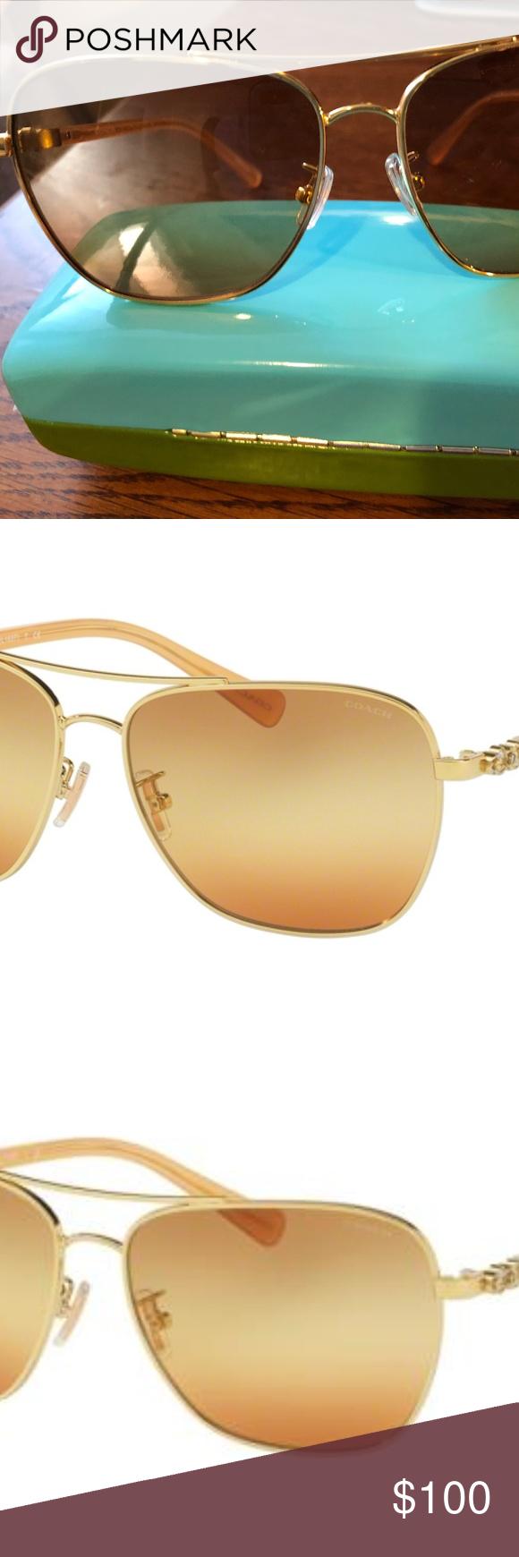 44387877c30da Coach Women Sunglasses Frame Color  9305W8 Gold