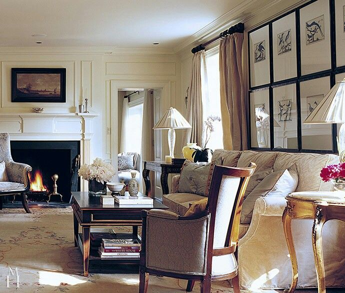 Mona Hajj: MH Interiors- living room