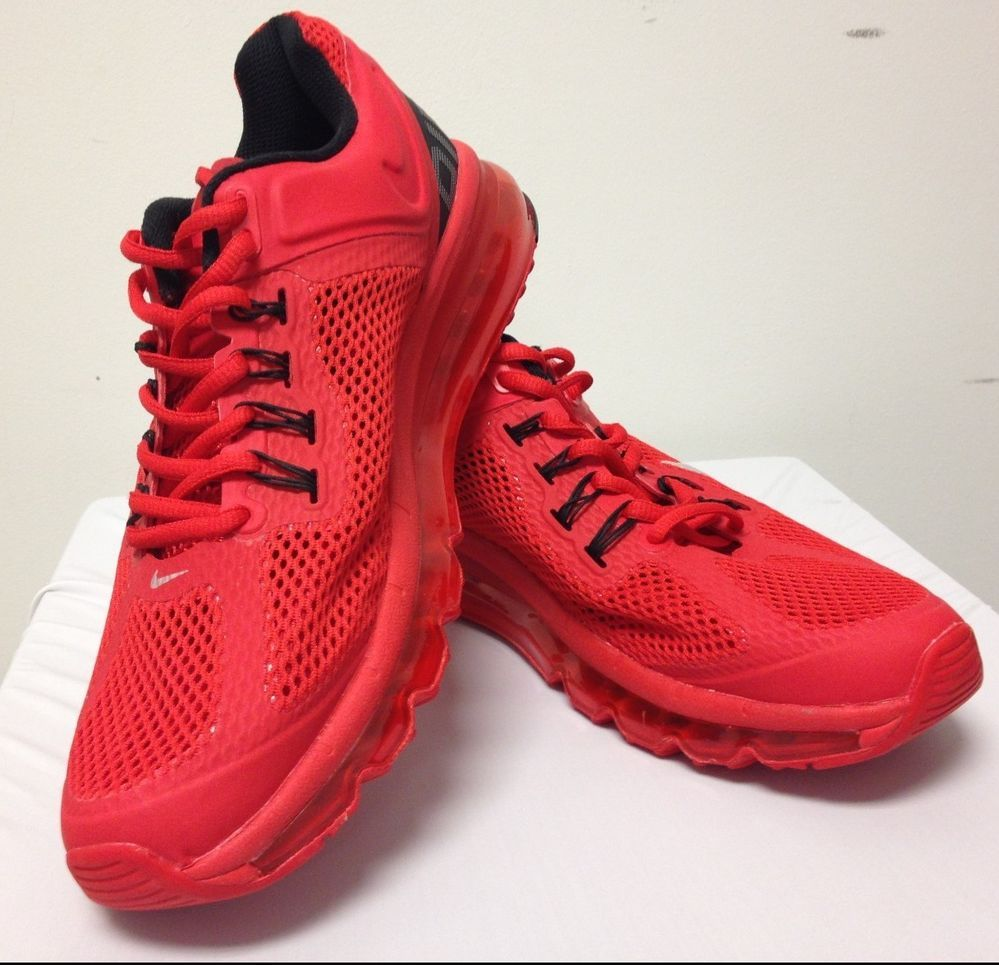 NIKE AIRMAX RED SIZE US 8.5 UK 7.5 EUR 42  NIKE  Athletic  169db35a6902