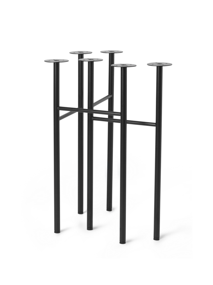 We Have Updated This Set Of Trestles For The Mingle Table Top With Adjustable Feet For Leveling The Table So That You Can Ensure Tha Table Legs Table Black Set